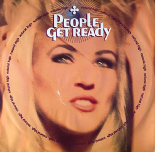 "People Get Ready ‎- Natural High (12"") (G+/VG-)"
